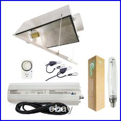 1000-Watt HPS Grow Light System with 6 Large Air Cooled Reflector with Glass