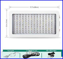 1500w LED Grow Light with Bloom and Veg Switch, (15W LED) 1500 watt NEW