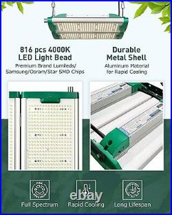 2000 Watt Grow Light Commercial Rig with Full Spectrum LED Diodes & Maximum Yield