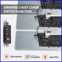 2000 Watt Grow Light LED Commercial Quality Full Spectrum Diodes and Premium Mea