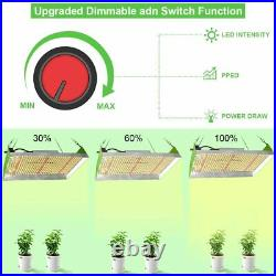 3000 Watt Commercial Grow Light up to 4x4 coverage and 2.6 g per watt Pro Qualit