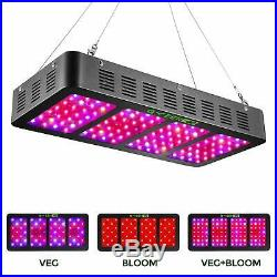 900W LED Grow Light With Veg&Bloom Switch, Greengo 3 Chips LED Plant Grow Lamp