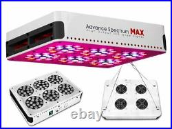 Advanced Spectrum MAX 3w Chip Modular Dual Lens LED Grow Light Kit Panel 7 Bands