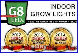 G8LED 450 Watt LED Grow Light for Flowering BLOOM with Optimal 8-Band with Incre