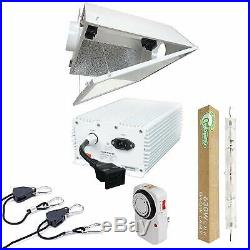 Hydro Crunch 630-Watt DE CMH Grow Light System with Double Ended Large Air Coole