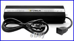 IPower 1000 Watt HPS MH Digital Dimmable Grow Light System Kits Wing