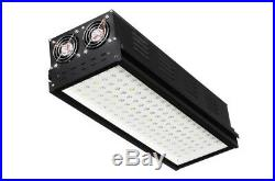 LED Black Single Grow Light, 283 WATTS Attachable Dimming Commercial GRADE