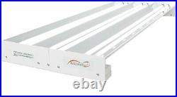 Quantum T5 324 Watts 4' 6 Tube Fixture 120/240v No Lamps Save With Bay Hydro