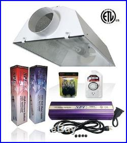SPL 400w 600w 1000w Watt Grow Light Kit HPS MH Air Cooled Hood Set for Plant