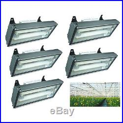 Set of 5 Induction Grow Light 400 Watt Plant Lamp Hanging Quantity Discount