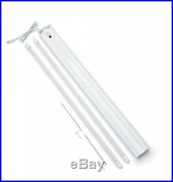 Toggled 4 ft. 32-Watts Full Spectrum LED Grow Light Fixture (2 Tubes Included)
