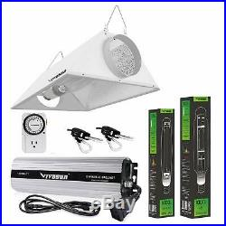 VIVOSUN Grow Light Kit 1000w Watt HPS MH Air Cooled Hood Set for Plant