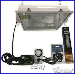 ViaVolt 600-Watt HPS White Grow Light System with Timer/Remote Ballast and Air